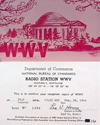 WWV QSL Card (first day in Colorado)
